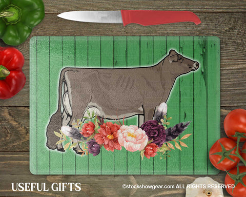 Brown Swiss Glass Cutting Boards