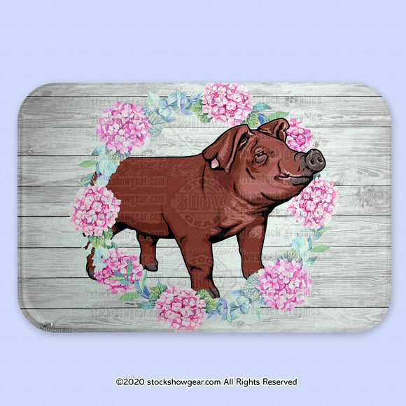 Duroc Pig Glass Cutting Board