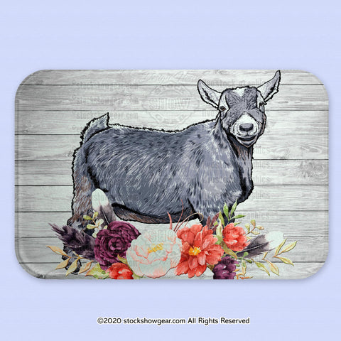 Pygmy Goat Glass Cutting Board