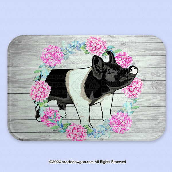 Hampshire Pig Glass Cutting Board