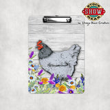 Blue Orpington Hen Clipboard