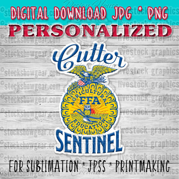 Personalized FFA™ Graphic Digital Download