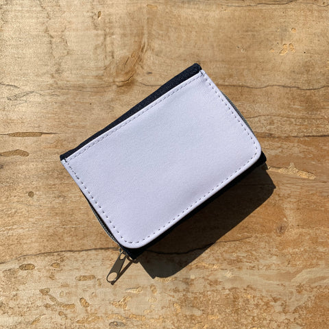 Denim Wallet with Coin Pouch Blank
