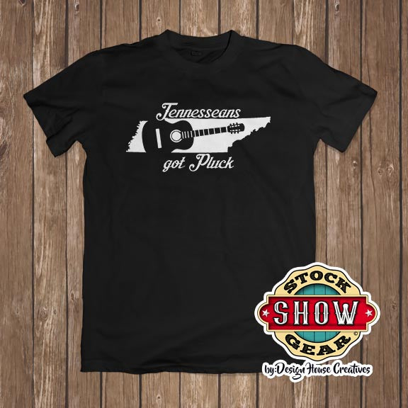 Tennesseans Got Pluck (Guitar) T-Shirt