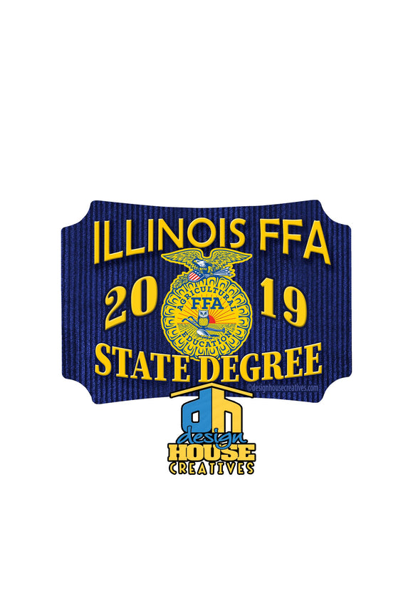 FFA™ State Degree Sticker
