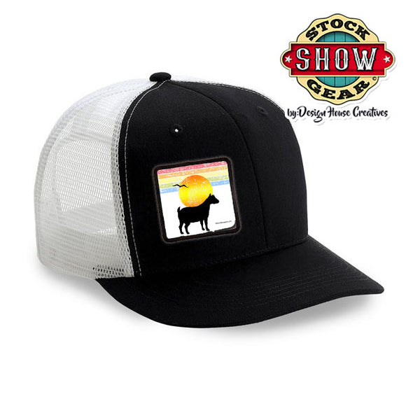 Retro Design Patch Trucker 6 Panel Hat