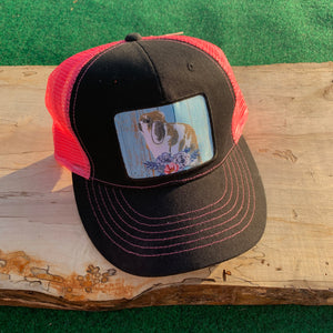 Holland Lop Rabbit Design Trucker Hat