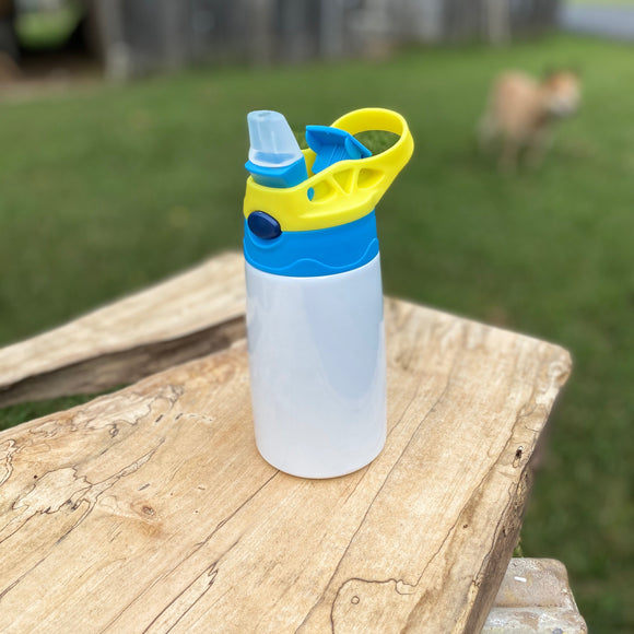 Kid's Flip Top Sippy Tumbler-Blank