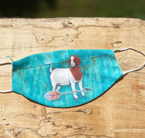 Boer Goat Face Masks-Limited Editions-In Stock