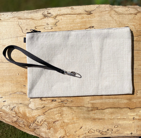 Poly-Linen Cosmetic Size Bag Blank