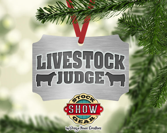 Livestock Judge  Ornaments