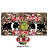 FFA™ LICENSE PLATE LAYOUT