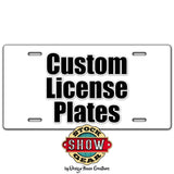 Oklahoma Show Mom Livestock License Plate