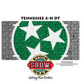 Tennessee Stars Livestock License Plate