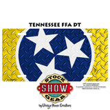 Tennessee Stars Sheep License Plate