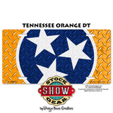 Tennessee Stars Dairy Cattle License Plate