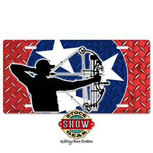 Tennessee TriStar Crossbow License Plate
