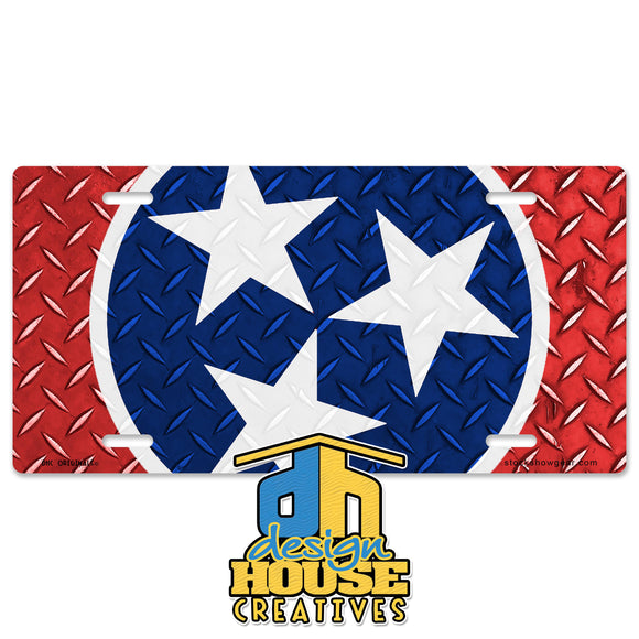Tennessee Stars License Plate