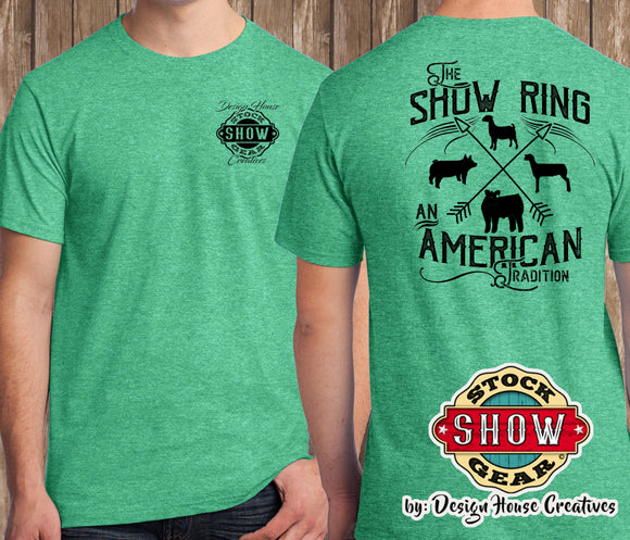 The Show Ring T-Shirt Multi-Animal