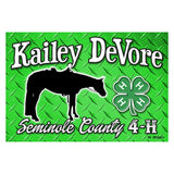 Custom Metal Signs - Stall and Farm Signs - Single/Double Sided