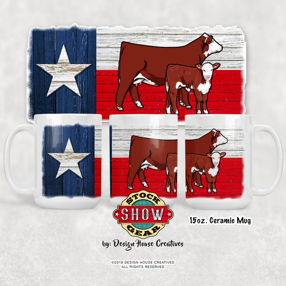 Texas Hereford Mugs