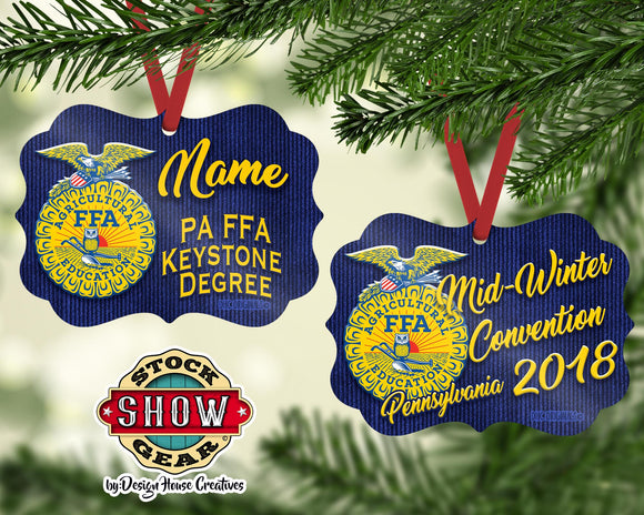 FFA™ Pennsylvania Mid-Winter Convention Ornament