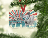 "Cattle Dog ""All I Want"" Christmas Ornament"