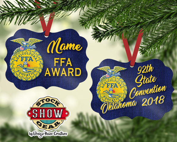 Oklahoma FFA™ Award Ornament