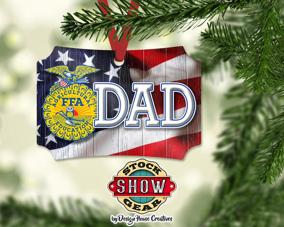 FFA™ Dad Ornament