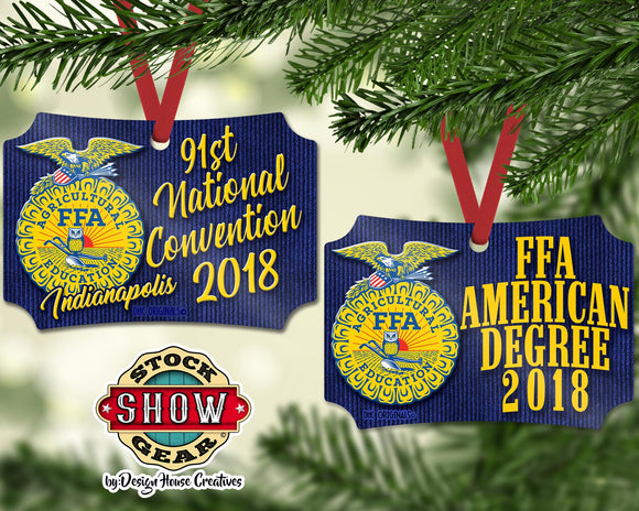 FFA™ American Degree Ornament