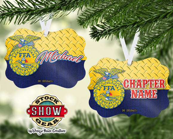 FFA™ Diamond Tread/Jacket Ornament
