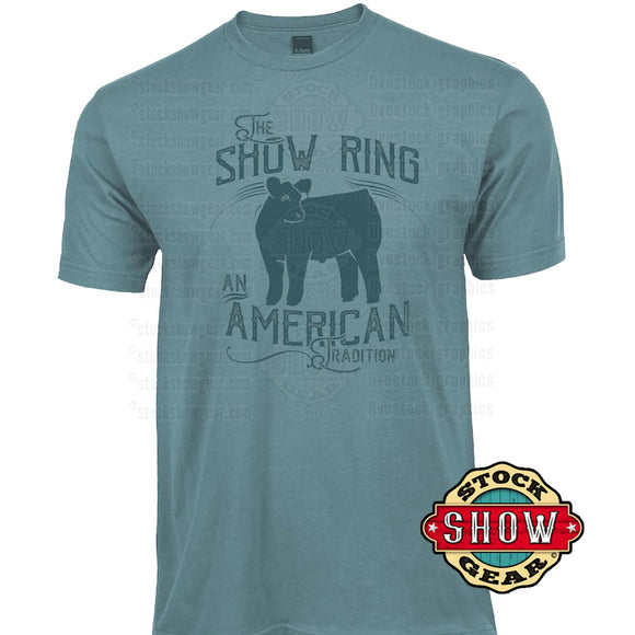 Livestock Show Ring T-shirts - Cattle, Pigs, Sheep and Goats