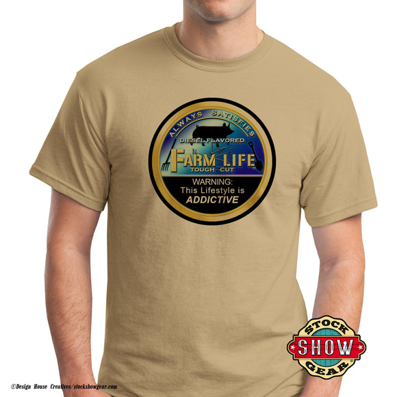 Farm Life Can T-shirt
