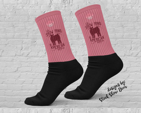 American Tradition-Show Heifer-Show Ring Socks