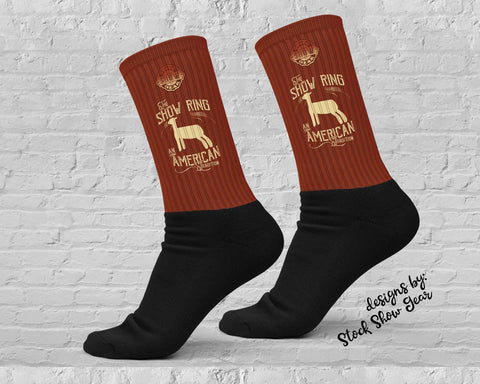 American Tradition-Lamb-Show Ring Socks