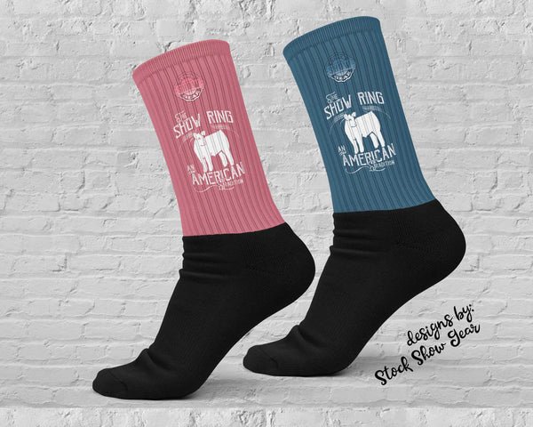 American Tradition-Steer-Show Ring Socks