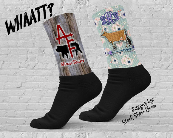 INFORMATION: Really Customized Socks-Whaaat?