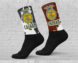 Calhan FFA Athletic Crew Socks