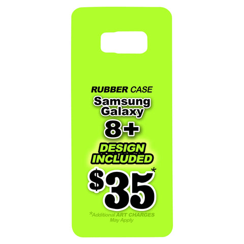 Samsung Galaxy 8+ Rubber Case
