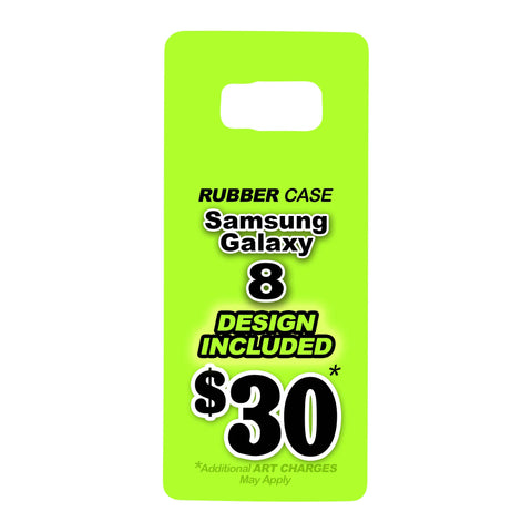 Samsung Galaxy 8 Rubber Case