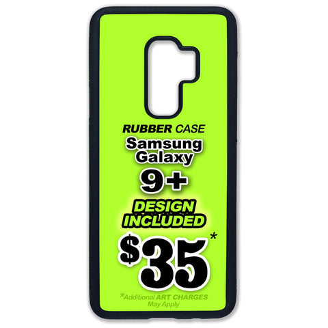 Samsung Galaxy 9+ Rubber Case