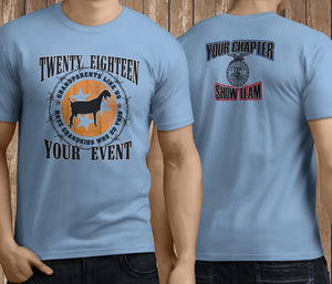Fair Livestock T-shirt Personalized
