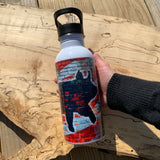Pig Stainless Steel Water Bottle - USA Brick