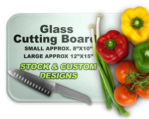 Custom Glass Cutting Boards