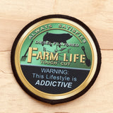 Green Farm Life Iron On Patches