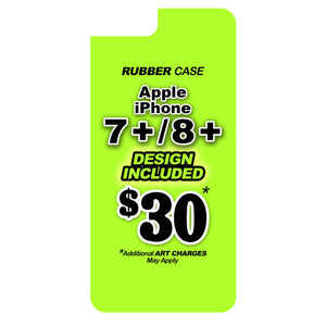 iPhone 7/8+ Rubber Case