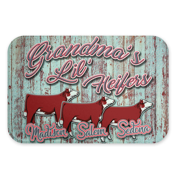 Personalized Livestock Glass Cutting Board
