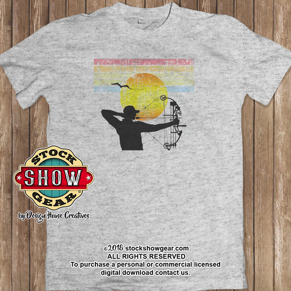 Retro-Look Shooting Sports T-shirt