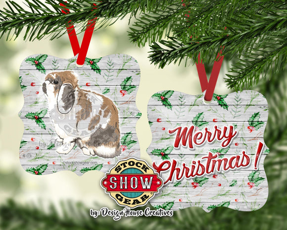 Rabbit Ornament Holland Lop Mini Rex