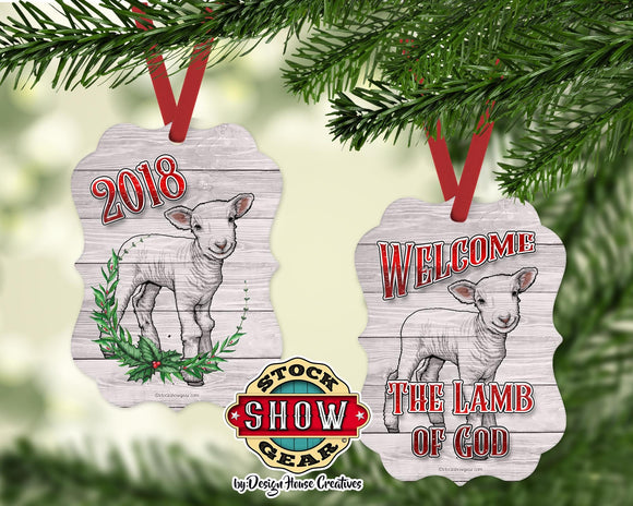 Welcome Lamb of God Ornament